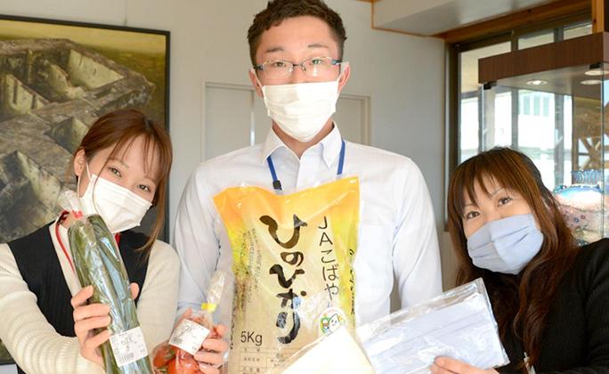 宮崎・小林が帰省自粛学生に応援物資送付プロジェクト