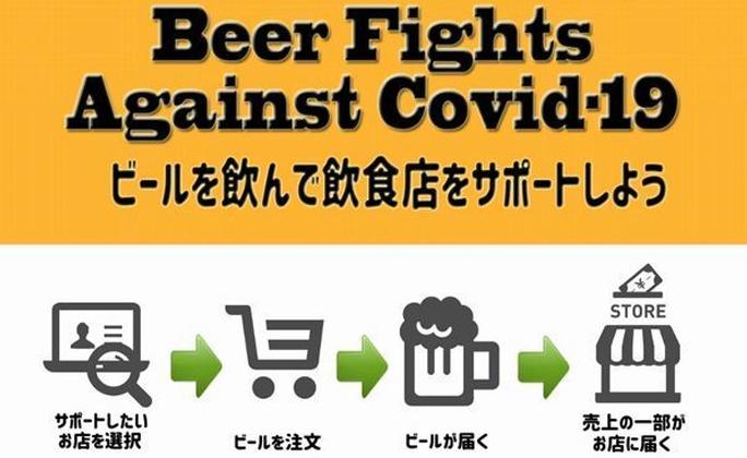 ビールを飲んで飲食店支援プロジェクト始動 池光エンタープライズ