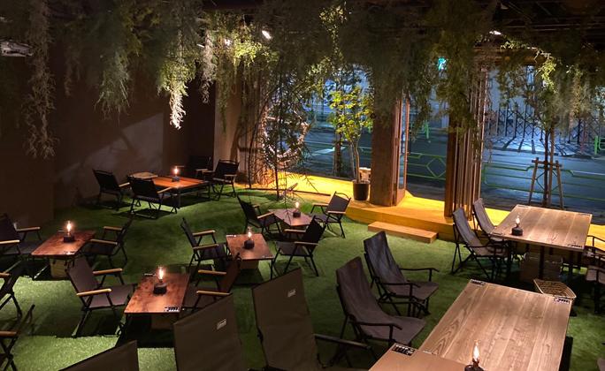 コロナを気にせずキャンプ体験ができるカフェの新業態「REWILD OUTDOOR TOKYO」が茅場町にオープン